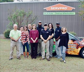 Our SERVPRO of Statesboro Team