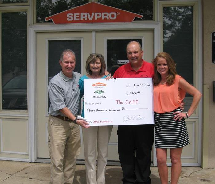 2013 SERVPRO of Statesboro Golf Tournament and The C.A.F.E. Fundraiser
