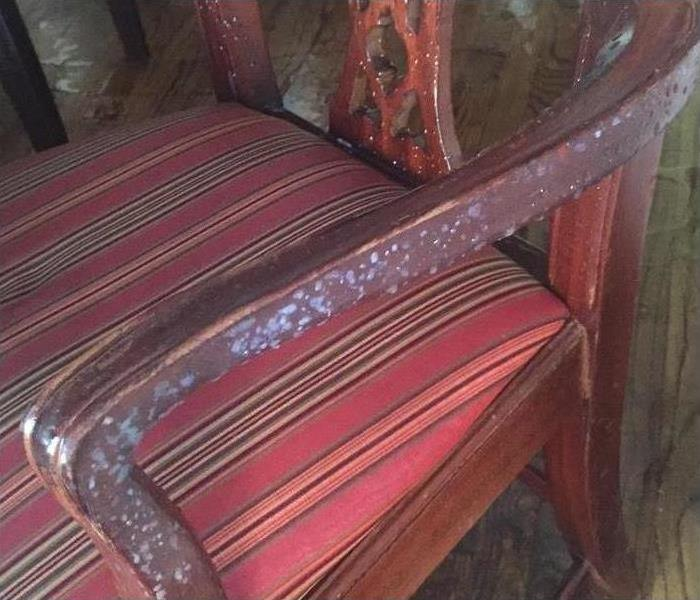 Water Damage to Chair