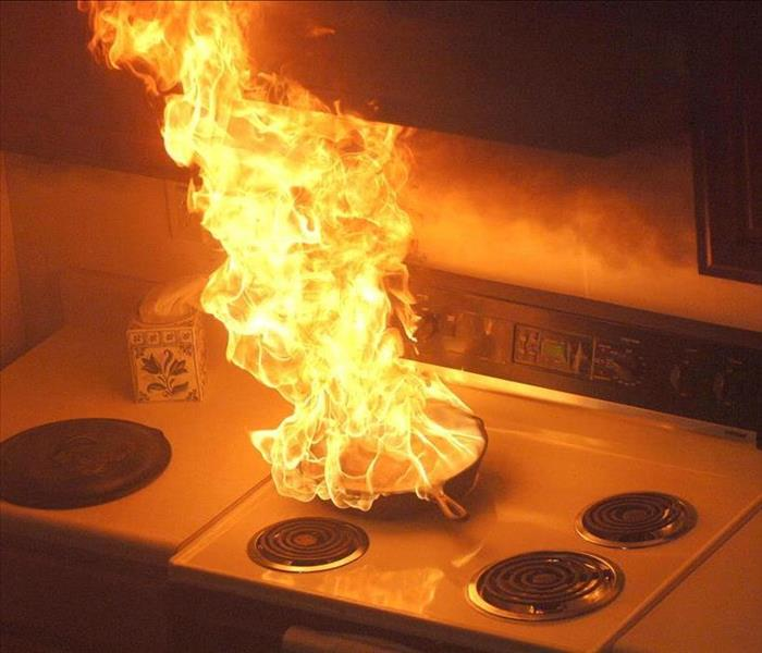 Fire Damage How To Avoid A Kitchen Fire; 10 Steps!